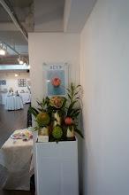 Photo: 展示室ACT5の入り口は、フルーツ作品。