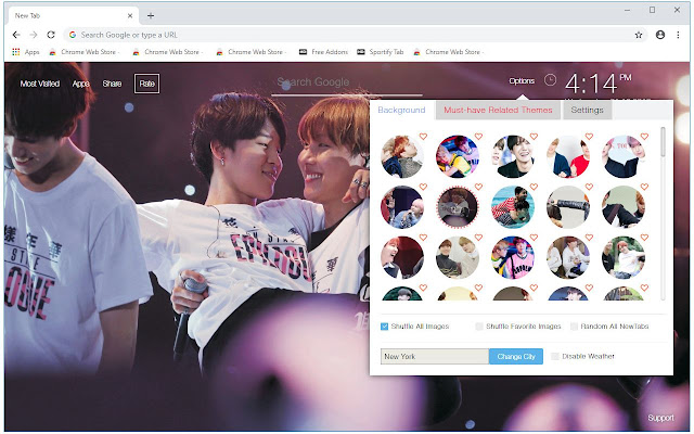 BTS Jimin & J Hope Wallpapers JiHope New Tab