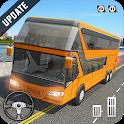 Coach Bus Simulator - City Bus Driving School Test icon