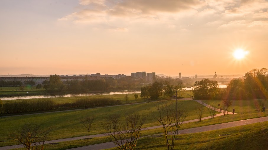 Взгляд в прошлое. Дрезден. Ноябрь 2017