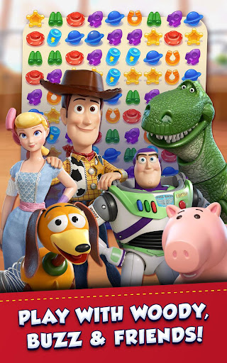 Toy Story Drop! – You've got a friend in match-3! screenshot 1