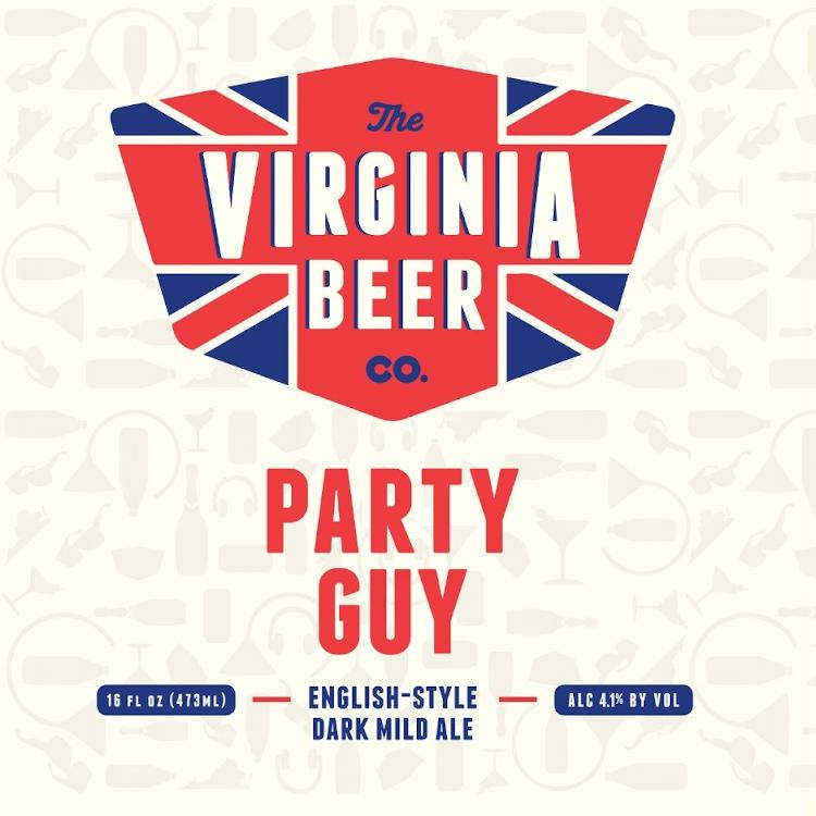Logo of Virginia Beer Co. Party Guy