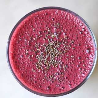 Healthy Beet and Yogurt Smoothie