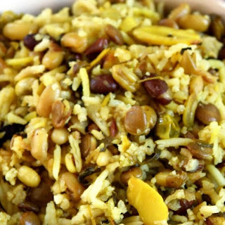 Spilling The Beans - Healthy , Protein Packed Three Bean Rice Pilaf