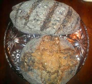 Oatmeal Black Bread