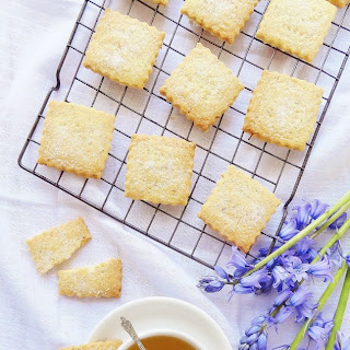 Camomile Tea & Lemon Shortbread Recipe