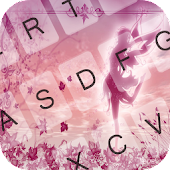 Fairy Pink Emoji Keyboard