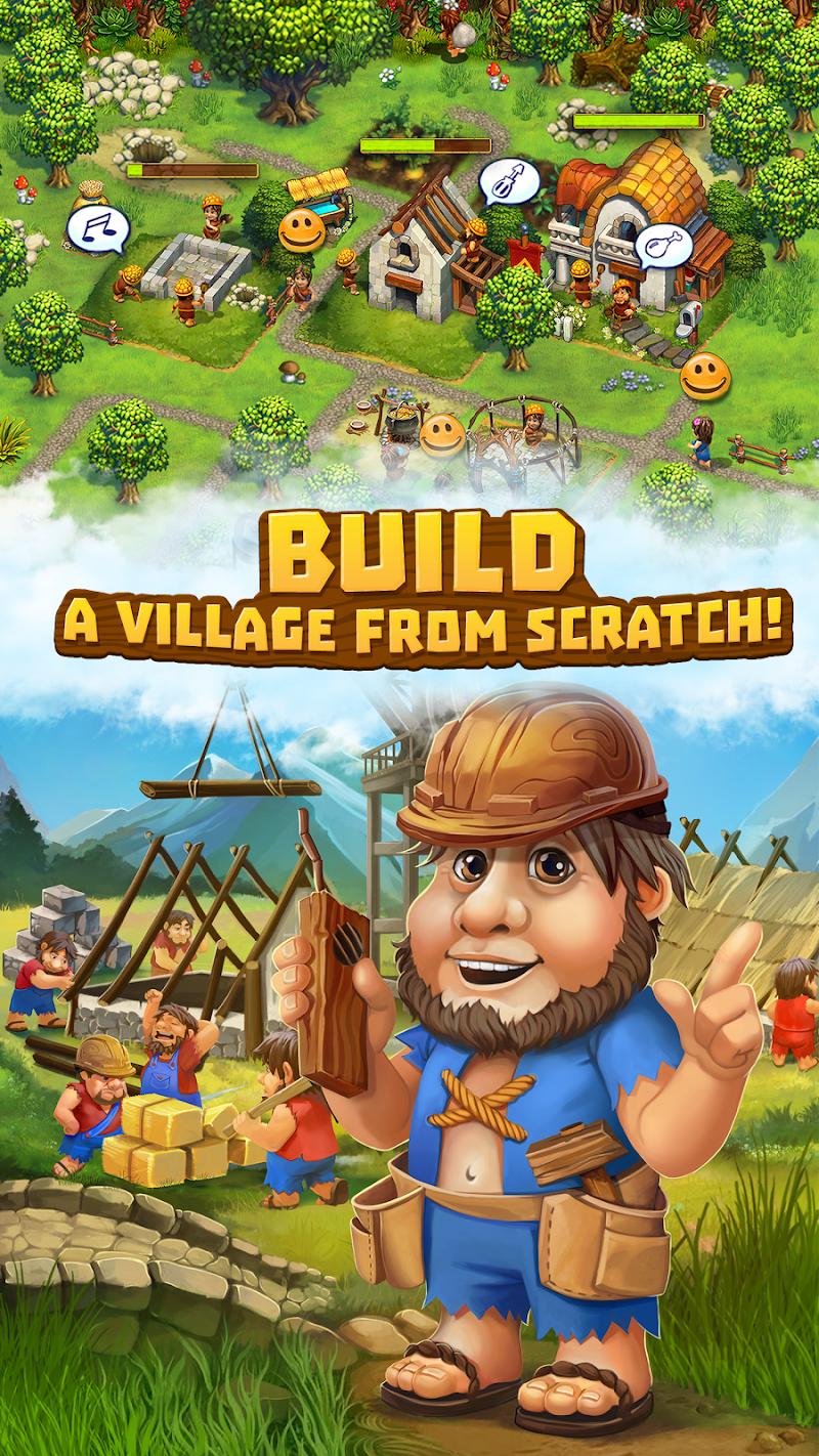 The Tribez: Build a Village Screenshot 3