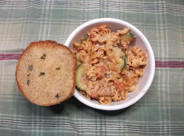 Italian Sausage And Zuchinni Casserole
