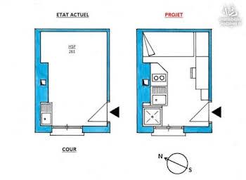 Chambre 8 m2