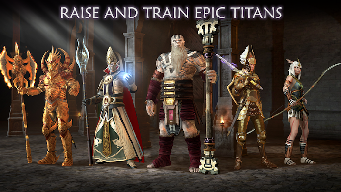 Dawn of Titans- screenshot