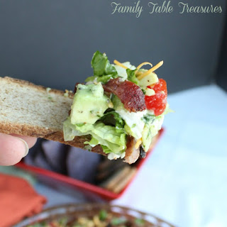 Blt Dip Shredded Lettuce Recipes