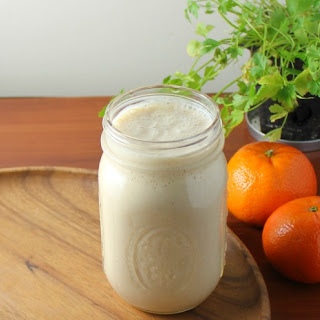 Creamy Citrus Power Boost Smoothie.