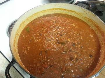 Matt's Texas Shiner Bock Chili