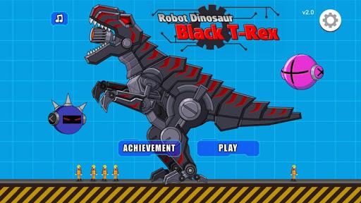 Robot Dinosaur Black T-Rex 2.5 screenshots 1