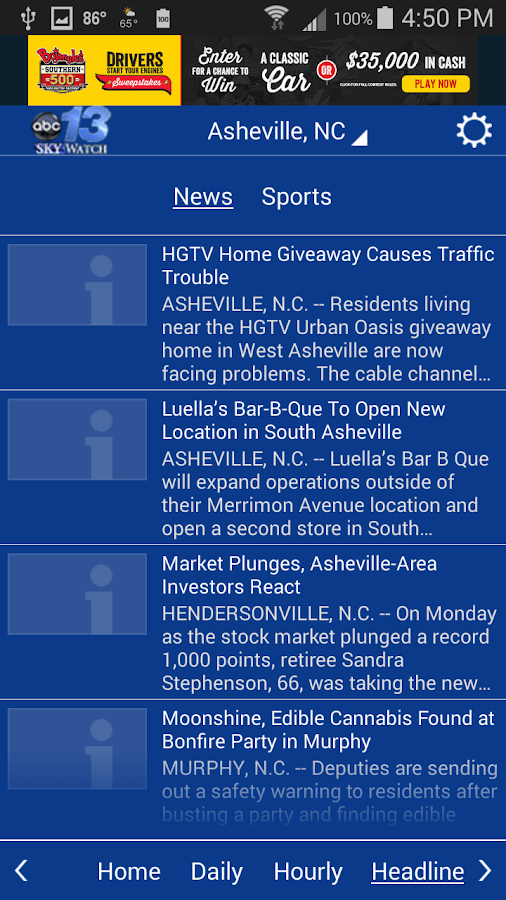 WLOS WX- screenshot