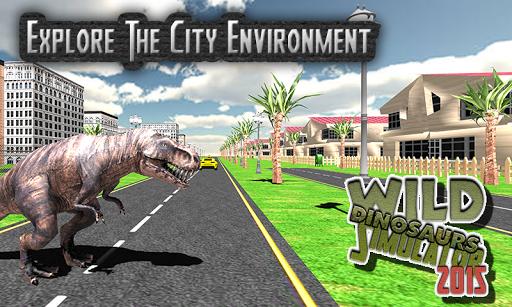 野生恐龍仿真2015年 玩模擬App免費 玩APPs