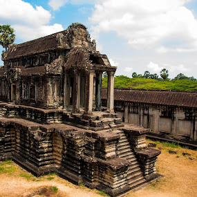 Angkor Wat by Edio Pathic - Buildings & Architecture Statues & Monuments