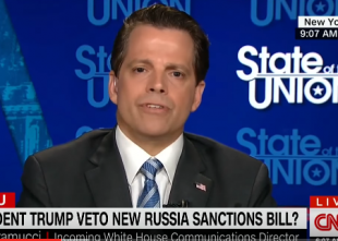Trump's new communications director promises 'drastic action' on leaks