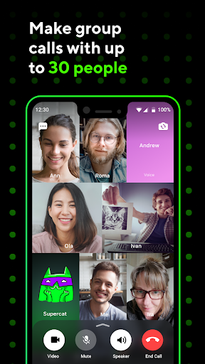 ICQ Messenger: Video Calling App & Chat Rooms 9.9.1(824703) Screenshots 4