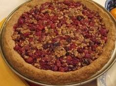 Cranberry Nut Pie Recipe
