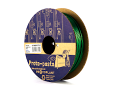 CLEARANCE - Proto-Pasta Cloverleaf Green Metallic HTPLA Filament - 2.85mm (0.5kg)