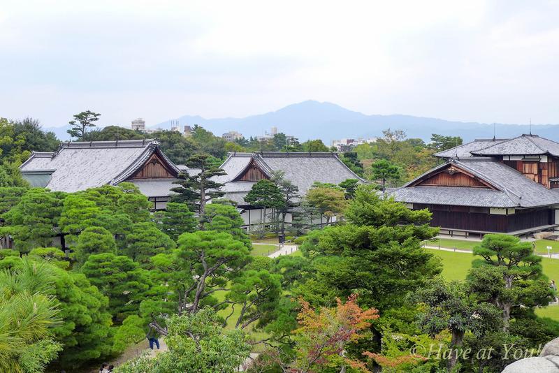 Nijo Castle panoramic view
