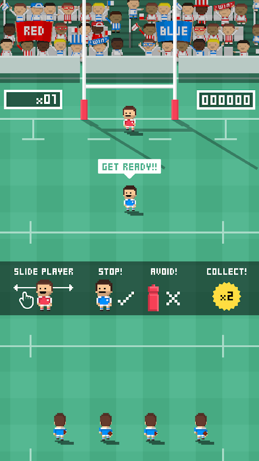 Tiny Rugby- screenshot