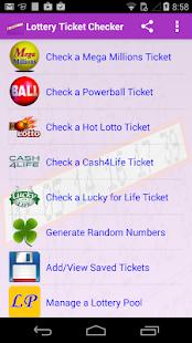 Lotto App Scanner
