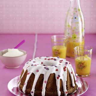 Mother's Day Chocolate Chip Cake.