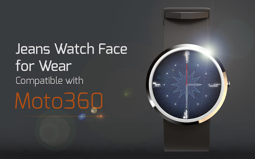 Jeans Watch Face for Wear