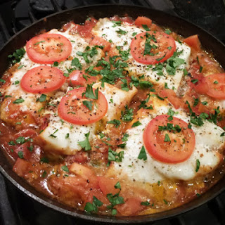 Fish Baked in Tomato Sauce.