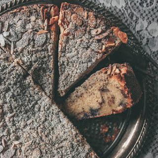 Blueberry Crème Fraiche Coffee Cake.