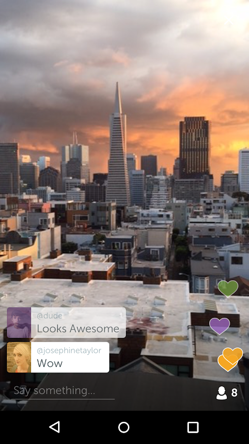 Periscope - Live-Video – Screenshot