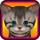 Cute Kitten - virtual pet cat