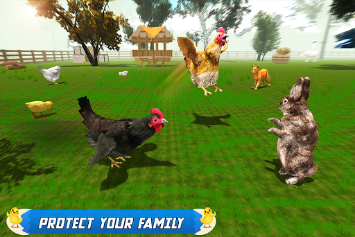 New Hen Family Simulator: Chicken Farming Games apkpoly screenshots 17