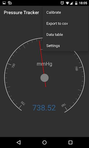 Pressure Tracker