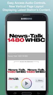 News-Talk 1480 WHBC- screenshot thumbnail