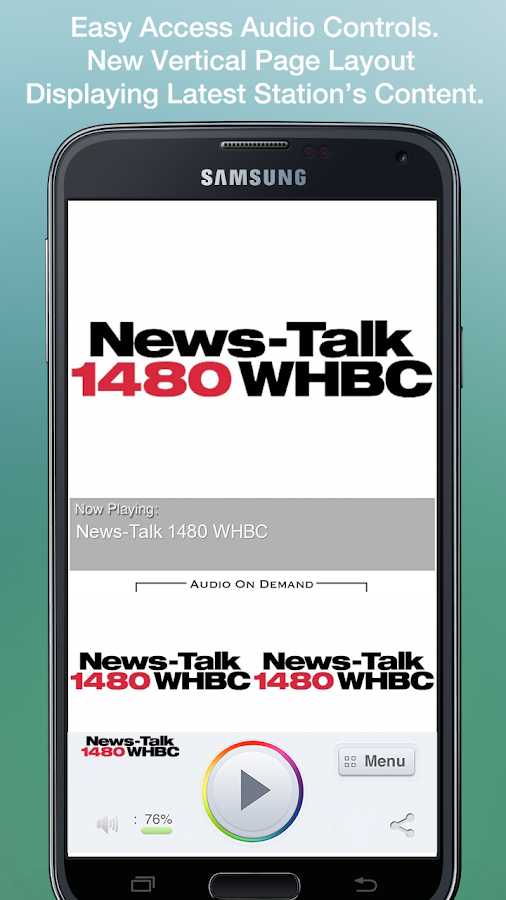 News-Talk 1480 WHBC- screenshot