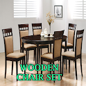 Wooden Chair Set icon