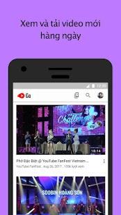 Tải YouTube Go miễn phí
