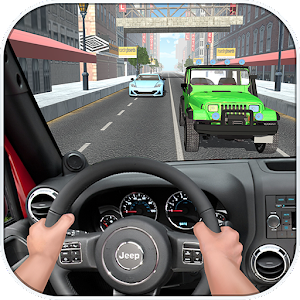 Real Traffic Asphalt Jeep Race for PC and MAC