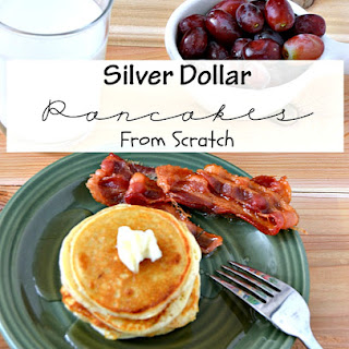 Silver Dollar Pancakes From Scratch