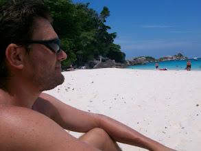 Photo: la spiaggia della prima isola