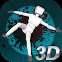 Stickman Turbo Dismounting 3D icon
