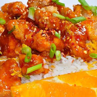 Slow Cooker Chinese Orange Chicken.