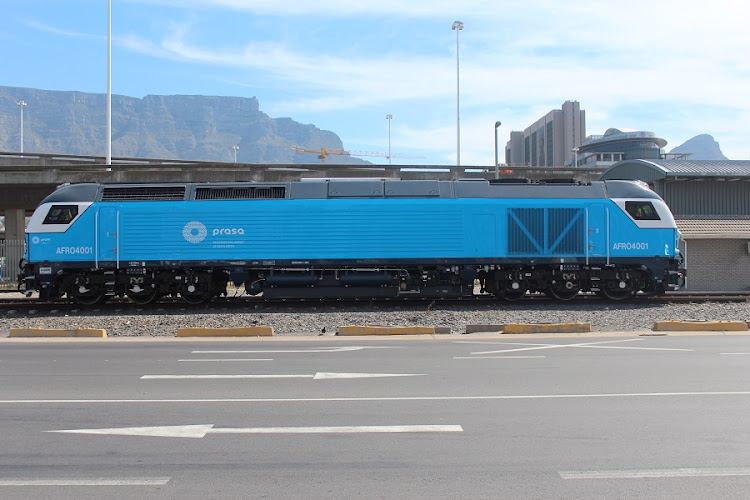 Prasa locomotive. Picture: PRASA