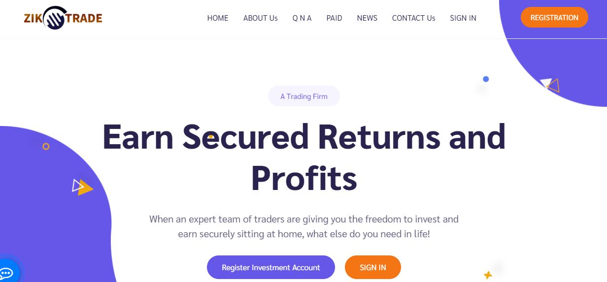 Стоит ли вкладывать в Zik Trade: обзор маркетинга, отзывы