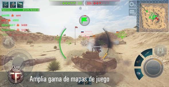 Tank Force: Juego de tanques en 3D 2