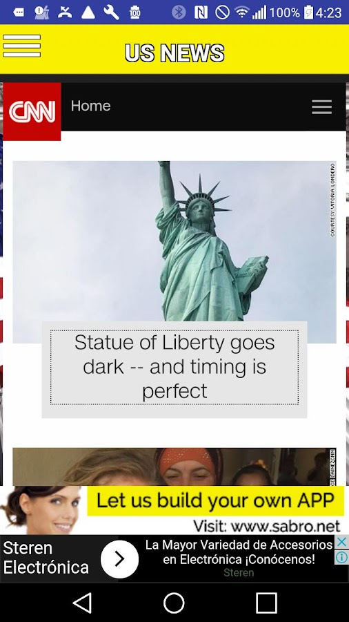 US News APP- screenshot